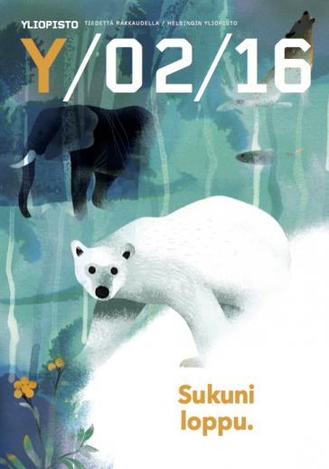 Extinction illustration Cover
