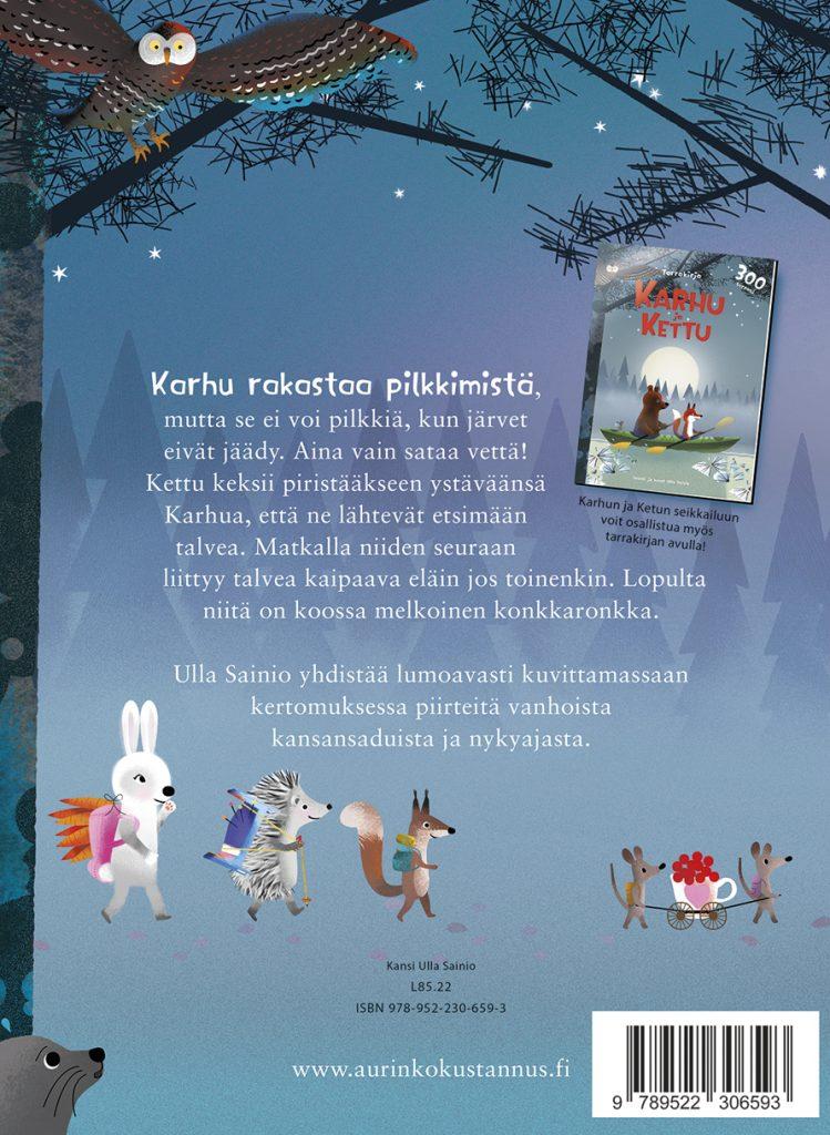 Karhu-ja-Kettu-matkalla-pohjoiseen-Ulla-Sainio-back-cover